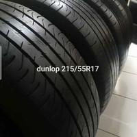 ban mobil ring17 Dunlop ukuran 215/55 ring 17 tubeless.