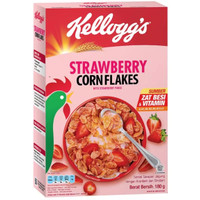 KELLOGGS Corn Flakes Fruit Strawberry 180g Cereal Sereal Sarapan