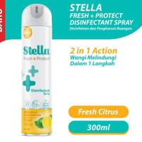 Stella Aerosol Desinfectant Spray Fresh Citrus 300ml