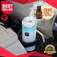 Pelembab Kabin Mobil Car Humidifier Car Aromatherapy Diffuser 300ml