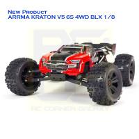 ARRMA KRATON V5 6S 4WD BLX 1/8 SPEED MONSTER TRUCK RTR (RED)
