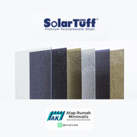 Solartuff Solid / Solarflat 3mm Atap Polycarbonate Minimalis