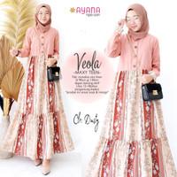 Veola Teen by ayana - Dress Gamis Motif Anak Remaja Usia 12-18 Tahun