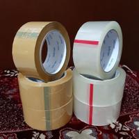 LAKBAN INDOTAPE BENING-COKLAT 45mm x 100 YARD KUALITAS DAIMARU