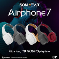 SonicGear Airphone 7 Bluetooth Headphones With Microphone