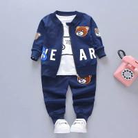 Anak Set Pakaian anak Laki-laki Baby baju Jas lengan panjang 0- 4 thn