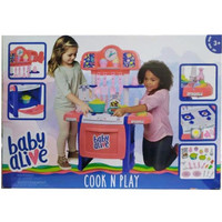 Baby Alive Cook N Play - Baby Alive Doll Kitchen With 21 Assorted Play