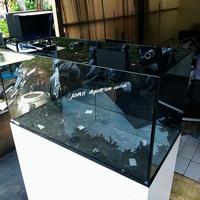 aquarium air laut 100x50x50 Rimless overflow box