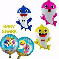 balon foil baby shark