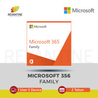 Microsoft Office 365 Family Home - 1 User 5 Device 2 Tahun