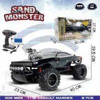 RDR1053 RC Rock Crawler Offroad Mainan Mobil Anak Remot Kontr