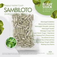 SAMBILOTO 100 Kapsul Herbal Meningkatkan Sistem Kekebalan Atasi Flu