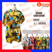 Baju Kemeja Hawaii Bali Oleh Oleh Khas Bali - Random, L