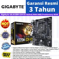 Gigabyte A320M S2H V2 Socket AM4 AMD Promontory B350 DDR4