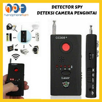 BUG DETECTOR Wireless Anti Spy Hidden Camera Finder detektor penyadap