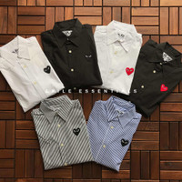 Comme Des Garcons (CDG) Play Classic Long Sleeve Shirt (Longsleeve)