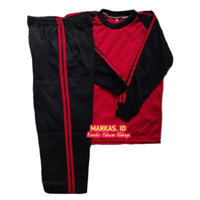 Setelan Olahraga Baju Trening anak sekolah TK PAUD
