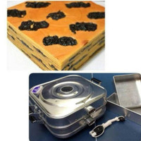 Bima Electric Baking Pan Listrik Loyang Kue Persegi AL071550 550 Watt