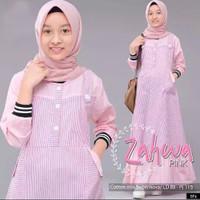 Zahwa kids/Gamis anak/Baju anak tanggung/Baju muslim anak remaja