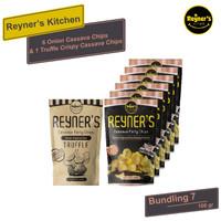Bundling 7!! Reyner's Kitchen 1pcs Truffle + 6pcs Party Cassava Chips