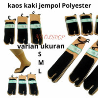 kaos kaki jempol telapak hitam/kaos kaki wanita/kaos kaki jempol