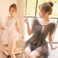 LI-93 ballerina swan ballet lingerie baju tidur wanita seksi cosplay