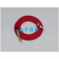 Kabel audio jack RCA to jack akay lurus kabel canare merah 1meter