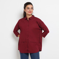Hammer Ladies Shirt Solid E5SS240-R1-Red