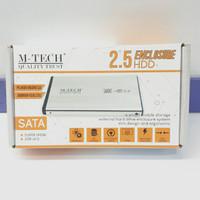 CASING HARDISK EXTERNAL M-TECH 2.5 USB 2.0 ATA