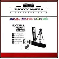 Tripod EXCELL Promoss / Excel Promos BLACK For Camera DSLR & Handycam