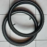 Ban Luar kenda 37-349 16 x 1 3/8 + ban dalam Deli tire