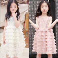 dress anak import / baju pesta anak import / gaun pesta anak princess