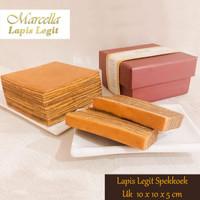 Kue Lapis Marcella Lapis Legit Bali Spekkoek Premium Size 10x10x5cm