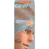 Gatsby Hair Color Natural Bleach & Color Aqua Silver 1s