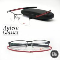 frame kacamata pria wanita sporty nike magnetic half frame 4288AF - FRAME ONLY