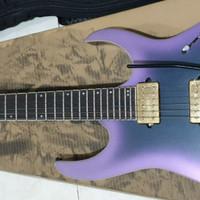 Ibanez Axion Label RG60ALS - Black Aurora Burst Matte Elec.Guitar