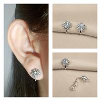 Anting Pesta Jepit Klip/Tanpa Tindik/Earclip/Clip Earrings Ready SE022