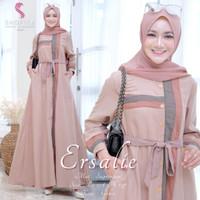 Baju Terusan Wanita Muslim Longdress New Ersalie Maxy Shofiya Ggs