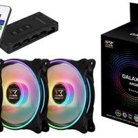 Xigmatek Cooling Fan Galaxy II Elite - ARGB Series (Cooling Fan)