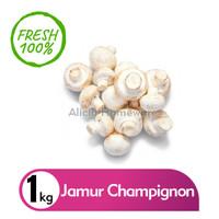Jamur Champignon /Jamur Kancing Fresh (Khusus Luar Jabodetabek)