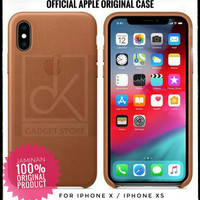 Iphone X / Iphone XS - Original Apple Official Leather Case