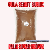 Gula Palem Semut 1Kg 1 Kg Gula Aren Bubuk Palm Brown Sugar Export Qual