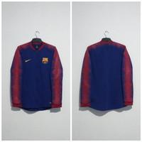 Jaket Sweater Sweatshirt Tracktop FC Barcelona 2018/19 Original