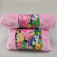 Bantal guling set printing little pony