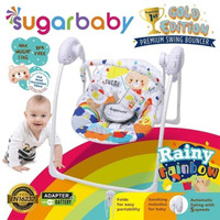 Sugar Baby Swing Bouncher Rainy Rainbow