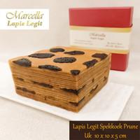 Kue Lapis Marcella Lapis Legit Spekoek Premium Prune Size 10x10x5cm