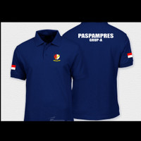 Kaos Polo Shirt Baju Kerah Distro PASPAMPRES polos custom indonesia
