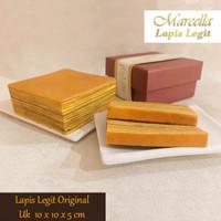Kue Lapis Marcella Lapis Legit Original Size 10x10x5cm