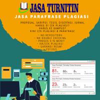 Jasa Cek Plagiarisme Plagiasi Turnitin Student Unlimited No Repository