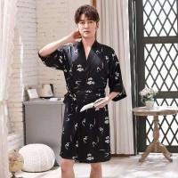 Kimono Pria Marx Baju Tidur Laki Set Outer Kimono Men Piyama Sleepwear